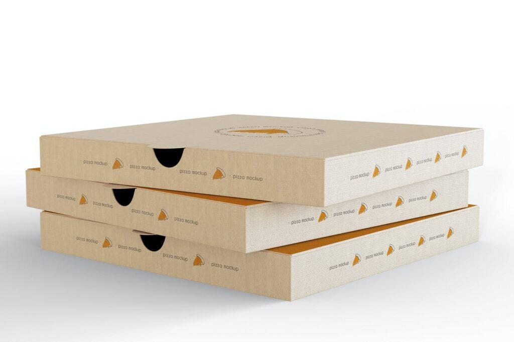 Pizza Boxes Mockup (2)
