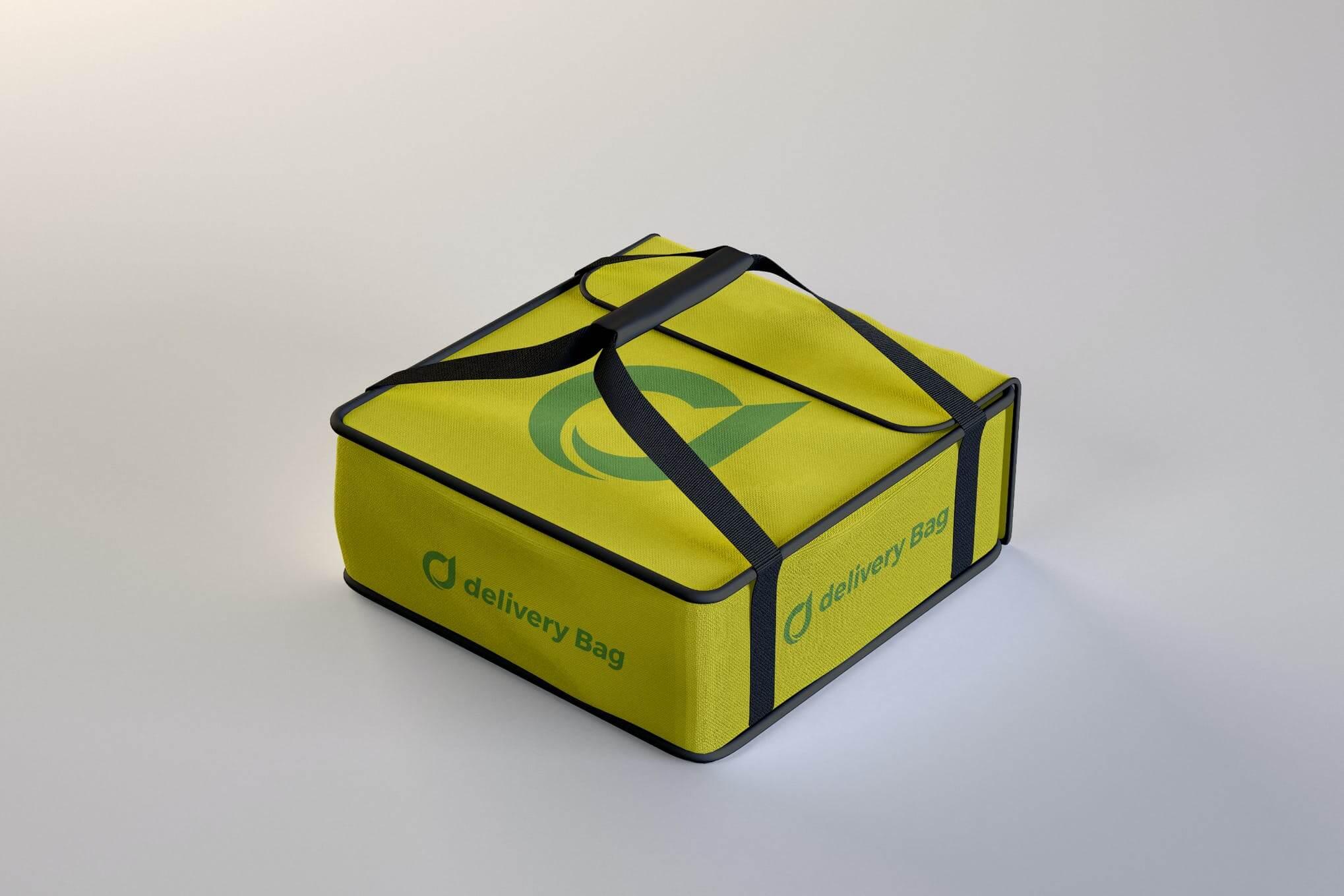 Pizza Delivery Bag Mockup (1)