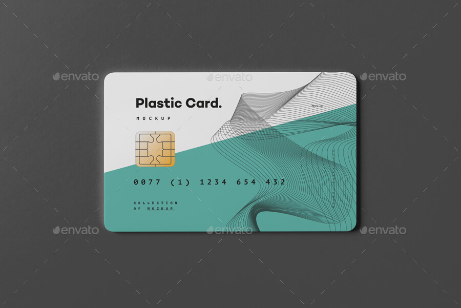 Plastic Card Mock-up (2)