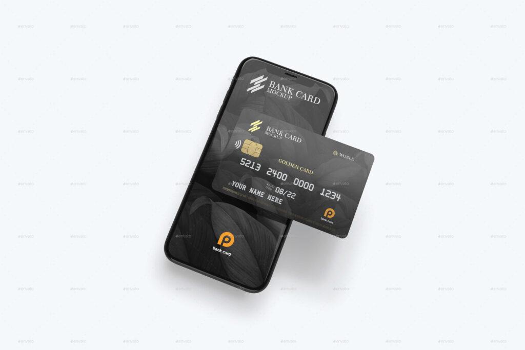 Plastic Card Mockup (2)