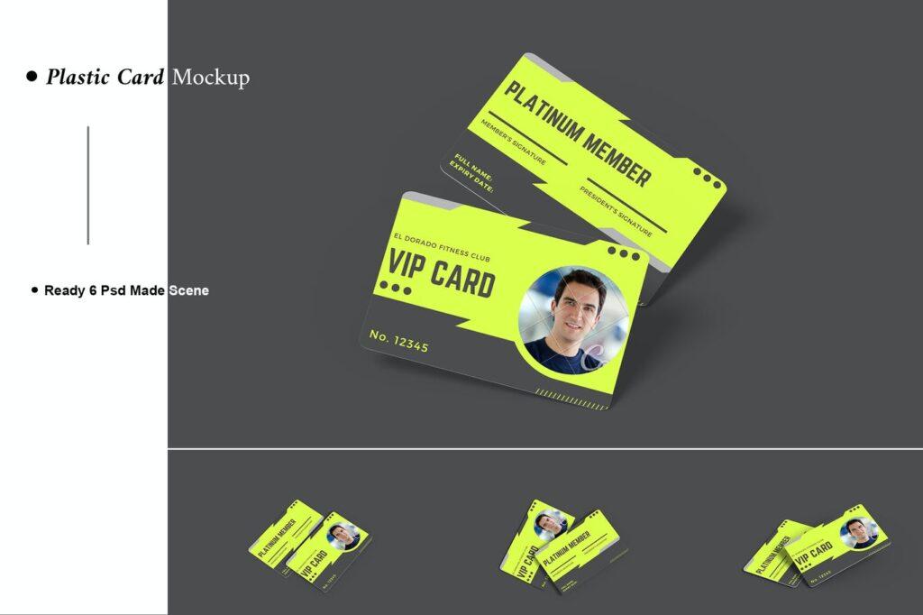 Plastic Card Mockup (3)