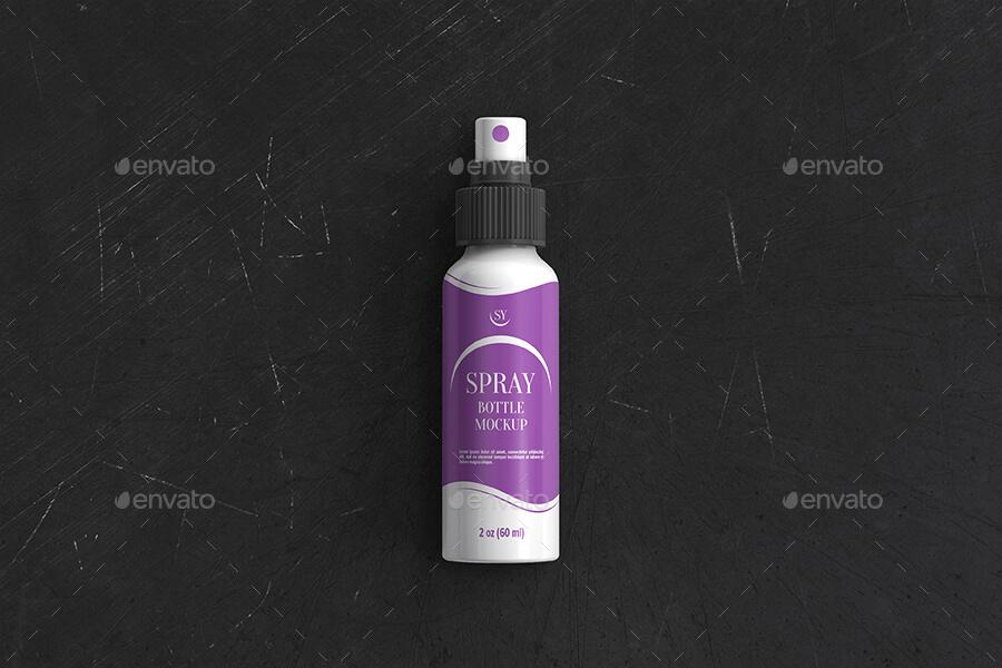 Plastic Spray Bottle Mockup2 (1)