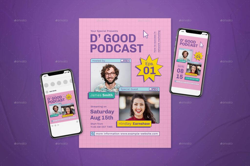 Podcast Flyer Set (1) (1)