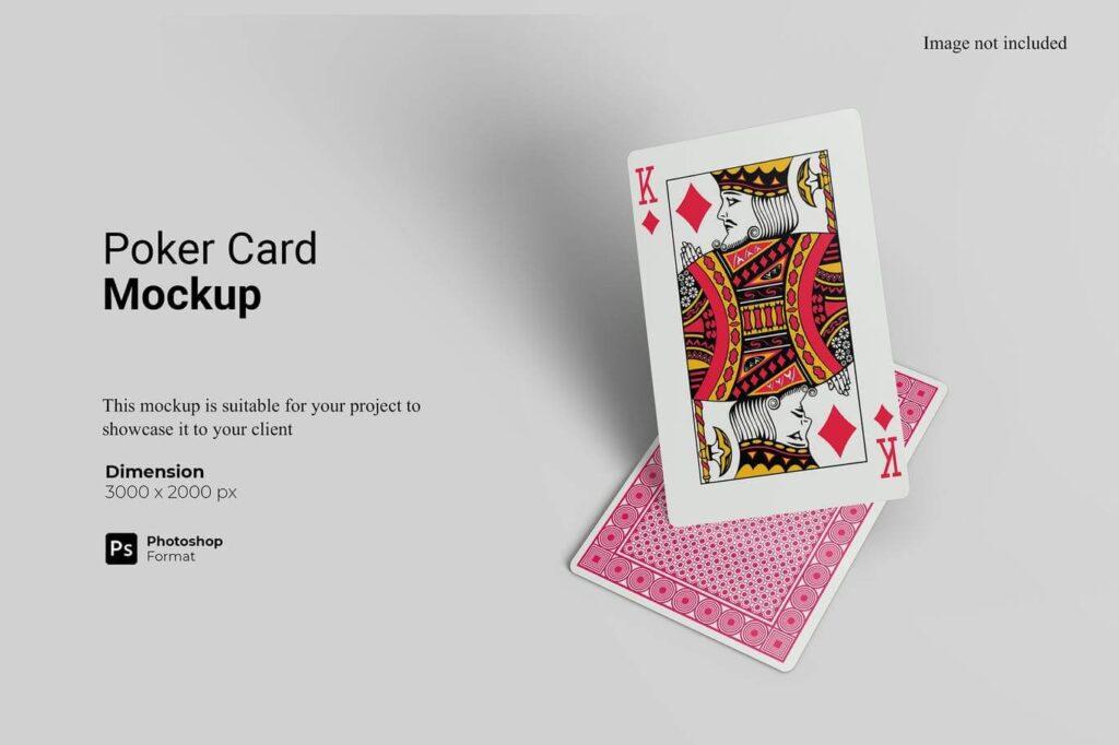 Poker Card Mockup (1)