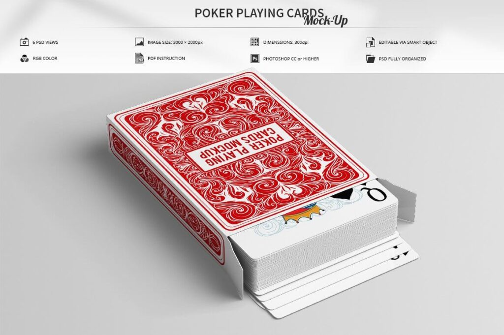 Poker Playing Cards Mock-Up (1)