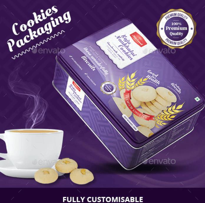 Premium Cookies Packaging
