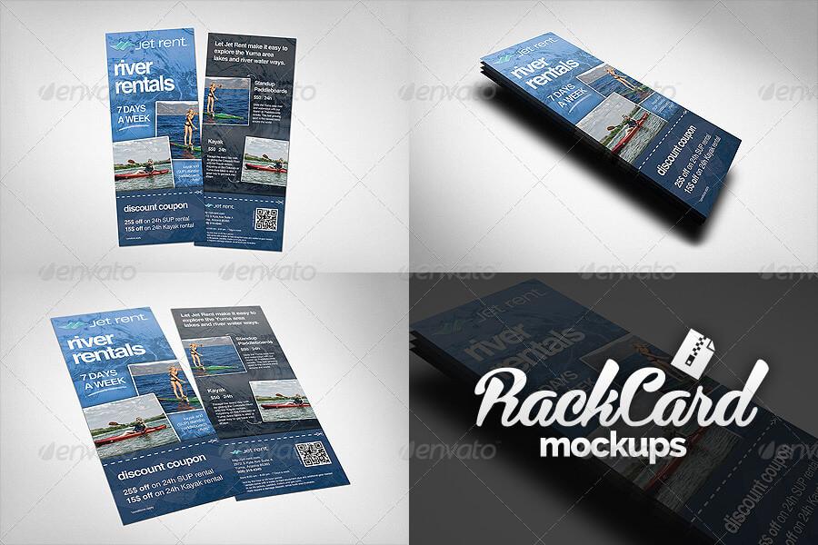 Rack Card Mockups Pack (1)