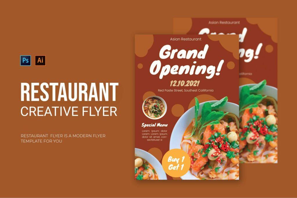 Restaurant Opening - Flyer (1)