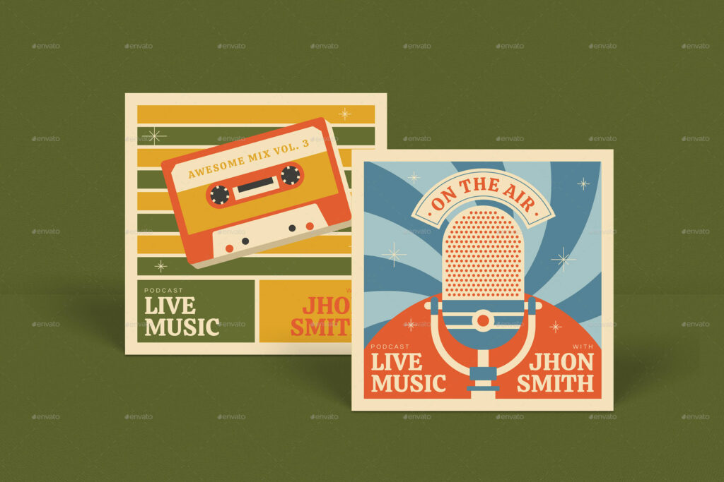 Retro Talkshow Podcast Package (1)