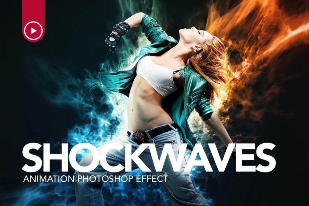 Shockwaves Animation Photoshop Action (1)