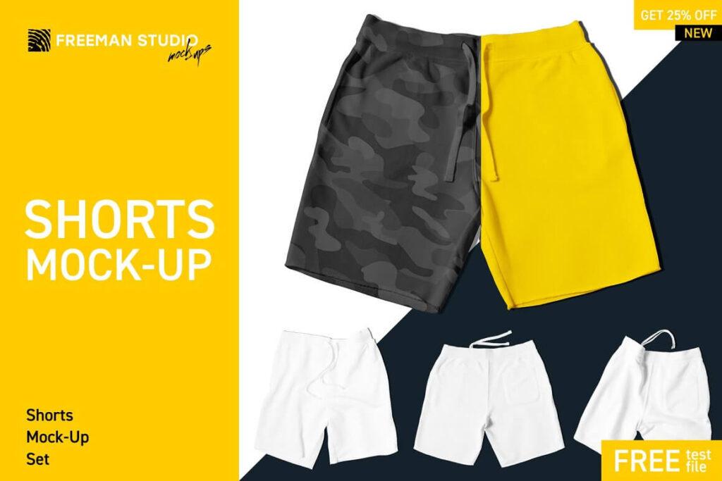 Shorts Mock-Up Set (1)
