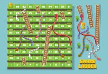 Snake and Ladder Board game (1)