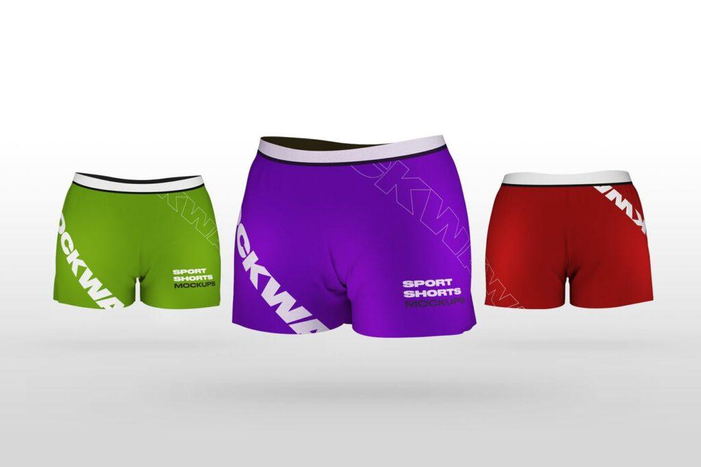 Sport Shorts Mockups (1)