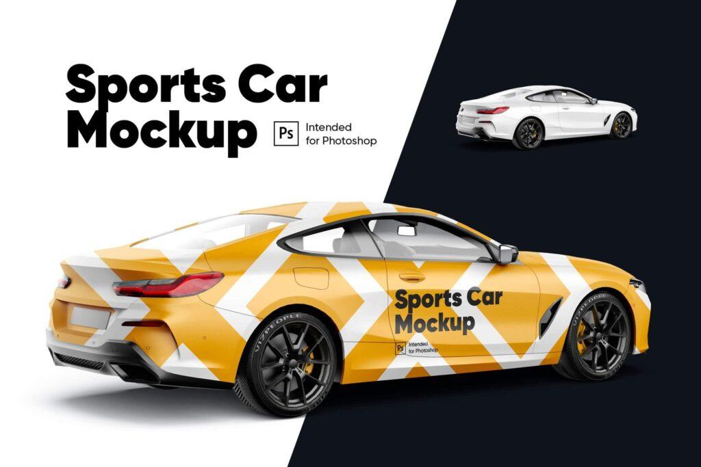 Sports Car Mockup (1)