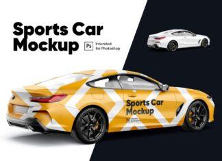Sports Car Mockup1 (1)
