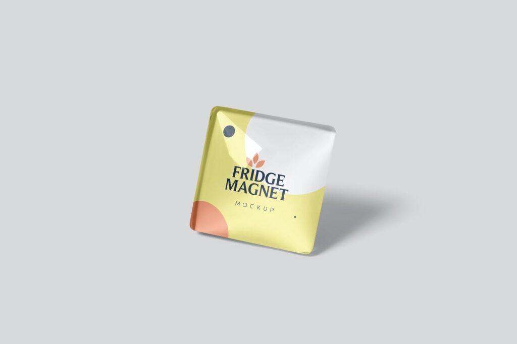 Square Fridge Magnets Mockups (1)