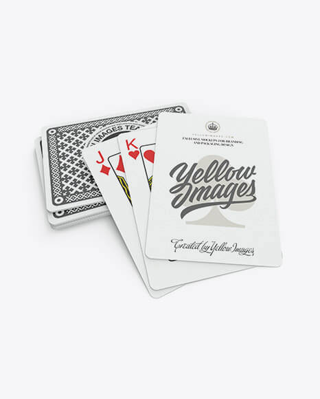 Stack of Playing Cards (1)