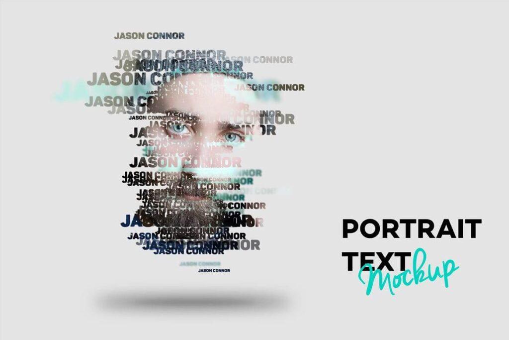 Text Portrait Mockup (1)