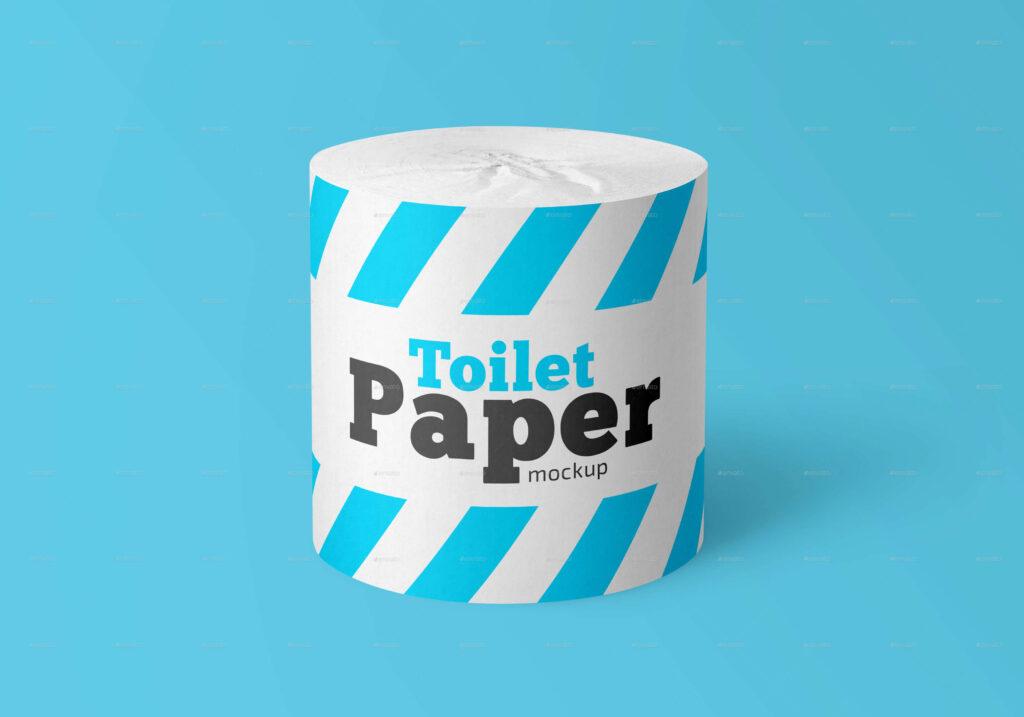 Toilet Paper Roll Mockup Set (1)