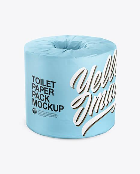 Toilet Tissue Pack Mockup (1)