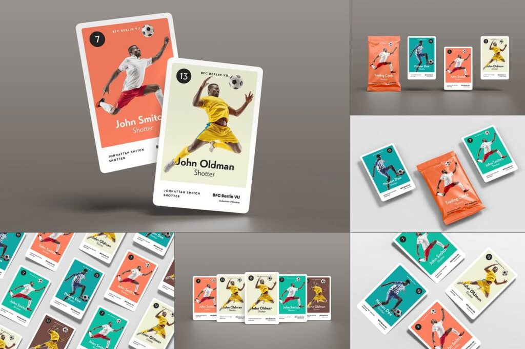 Trading Cards Mock-up (1)
