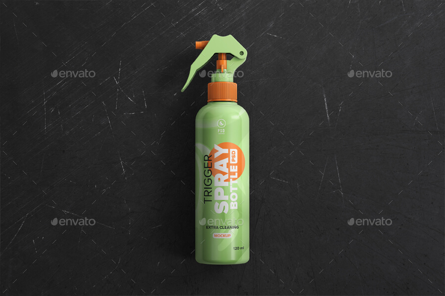 Trigger Spray Bottle Mockup (1)