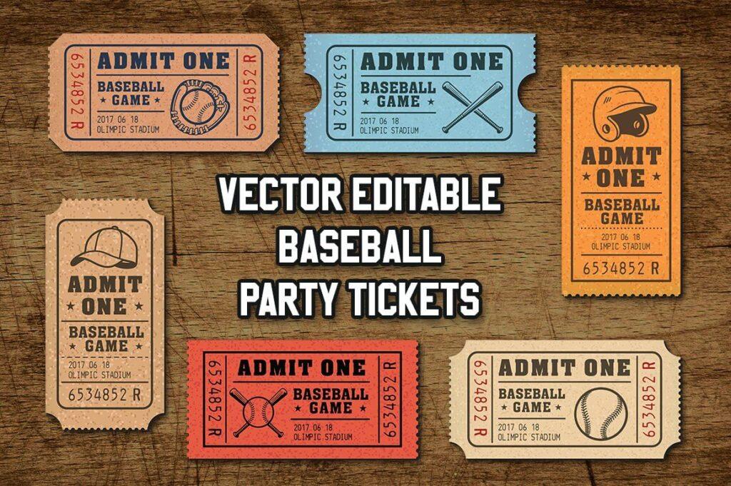 Vector Editable Baseball Tickets1 (1)