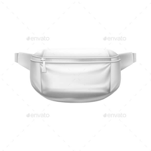 Waist Bag, Fashion Belt Pouch, Sport Fanny Pack 3D (1)