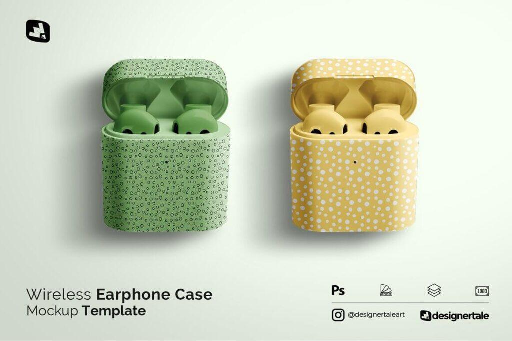 Wireless Earphone Case Mockup (1)