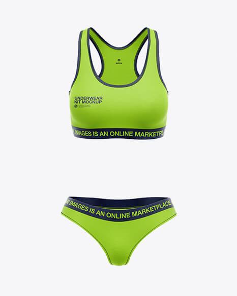 Women`s Underwear Kit Mockup - Front View (1)
