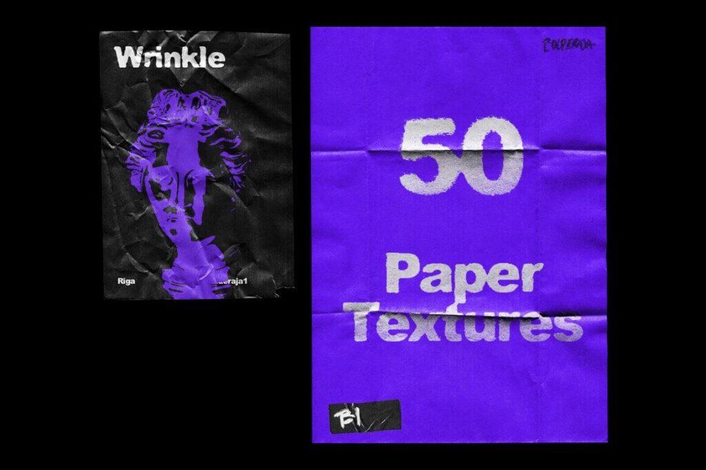 Wrinkle Paper Mockup Vintage (1)