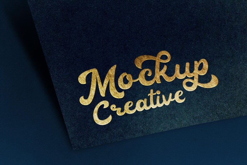 YDM Logo Mockup Paper Textured with Gold Text (1)