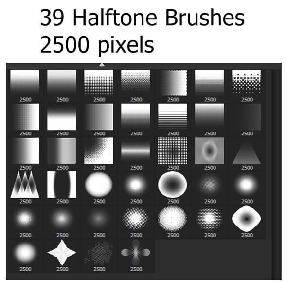 39 Halftones Brushes (1)