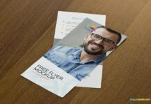 Free Attractive Flyer Mockup PSD Template (1)