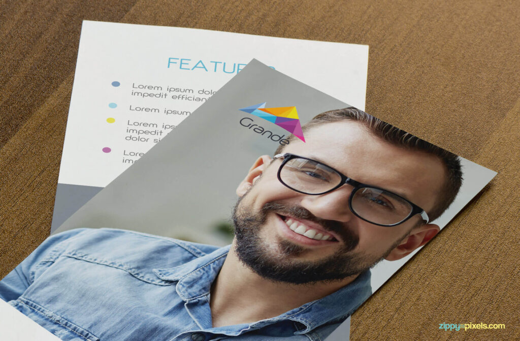 Free Attractive Flyer Mockup PSD Template2 (1)