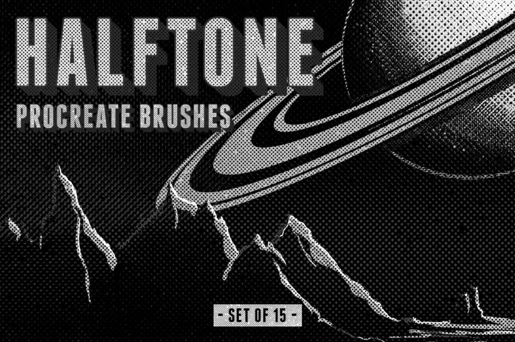Halftone Procreate Brushes (1)